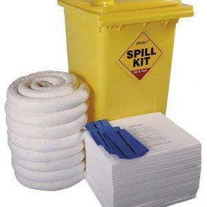 Spill Kit Wheelie Bin