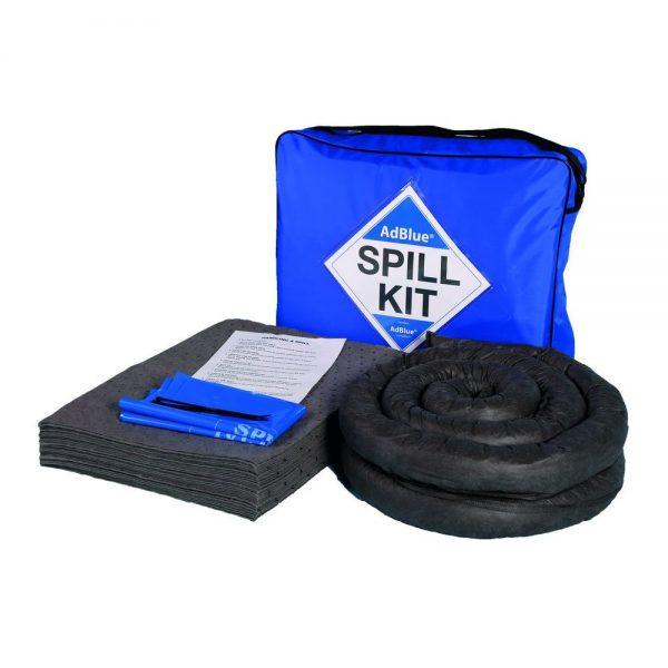 1 x 50 litre AdBlue spill kit in blue shoulder bag