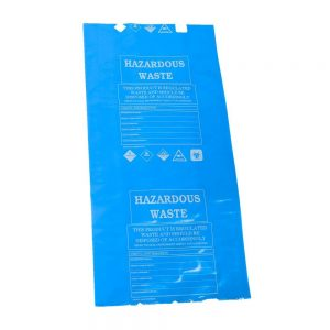 10 x BLUE Disposal Bags & Ties