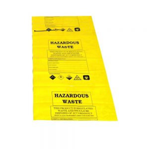 10 x YELLOW Disposal Bags & Ties