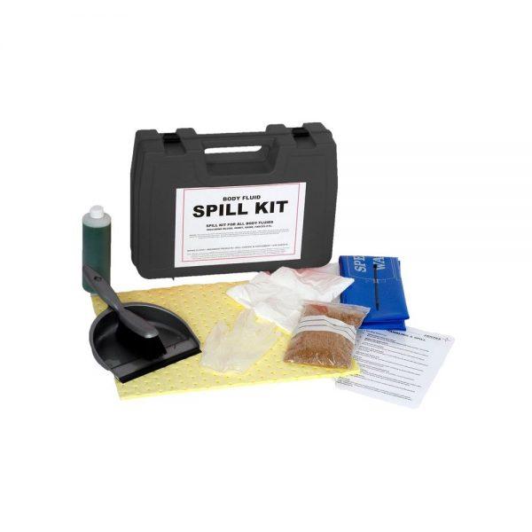 B/Fluid Body Fluid Spill Kit in Hard Carry Case