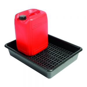 64.5 x 49.5 x 12cm 2 x 25L drum tray with container stand