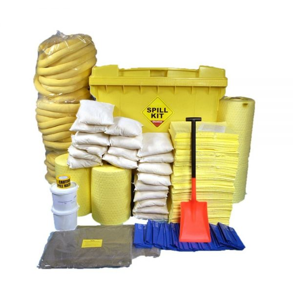 Chemical Chemical Spill Kit Wheeled Bin