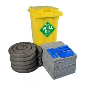 1 x 120 litre spill kit with EVO absorbents