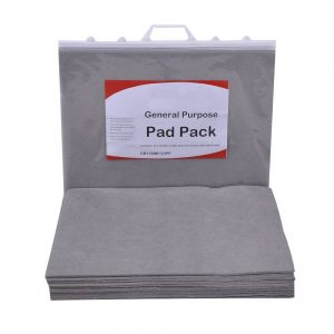1 pk of 20 pads Clip-top bag