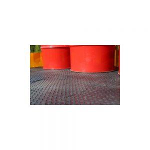 63 63 x (50cm x 50cm) Interlocking Tuff Base Tiles for INB-79
