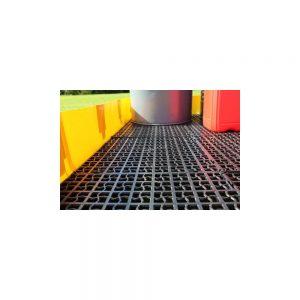 4 4 x (50cm x 50cm) Interlocking Decking Grids for INB-22