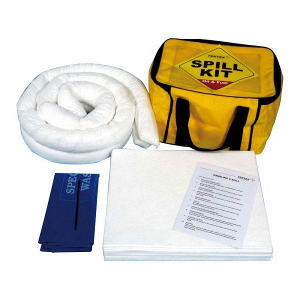 Oil & Fuel Oil & Fuel Spill Kit in Cube Bag