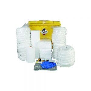 Oil & Fuel Oil & Fuel Spill Kit in Wheeled Bin