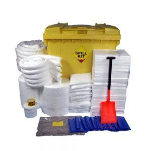 Oil & Fuel Oil & Fuel Spill Kit - Wheeled Bin