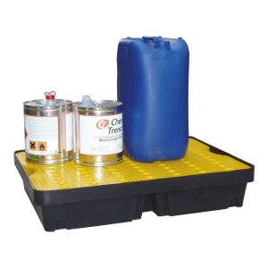 80 x 60 x 15cm Large spill tray with removable grid