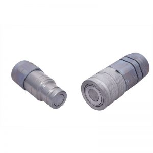 1x HQ10-F-M22x1.5M L15 L=11.7Flat Face Coupling ISO16028 350 Bar MWP