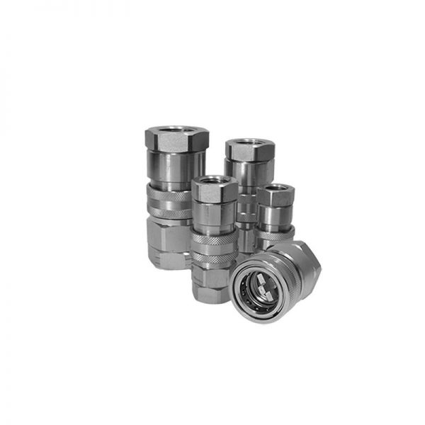 1x HTN06-F-04NGuided Poppet Coupling 450 Bar MWP