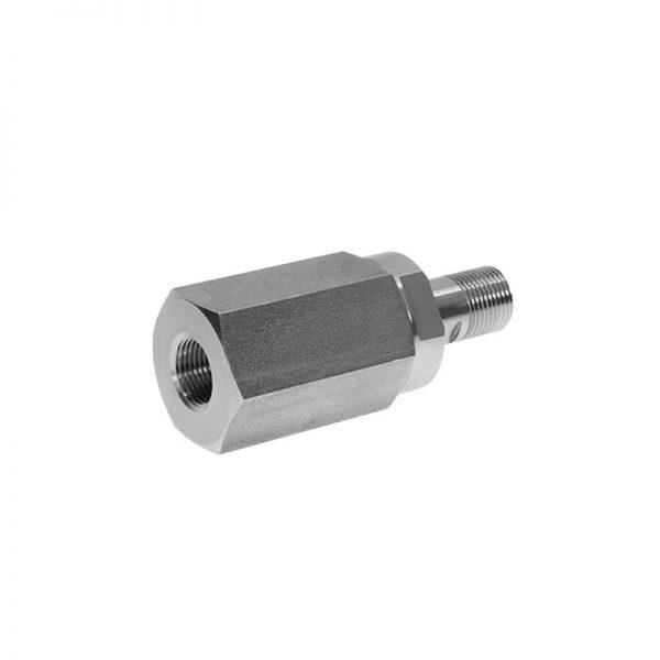 1x SRIL-25-16GM-16GAISI 316 Rotary Coupling Inline 250 Bar MWP 150 l/min max flow